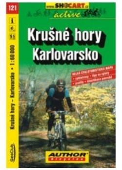 mapa cyklo Krušné hory,Karlovarsko,121