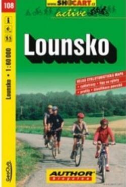 mapa cyklo Lounsko,108