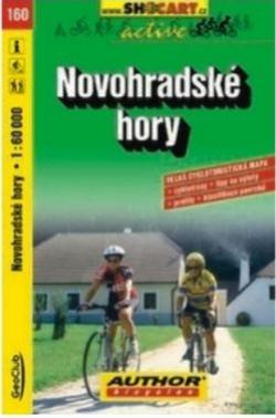 mapa cyklo Novohradské hory,160