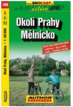 mapa cyklo Okolí Prahy,Mělnicko,109