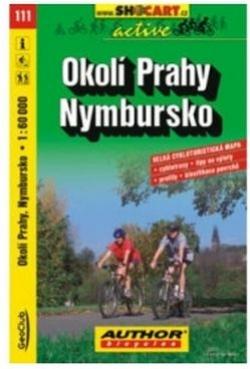 mapa cyklo Okolí Prahy,Nymbursko,111