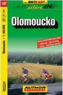 mapa cyklo Olomoucko,147