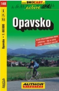 mapa cyklo Opavsko,148