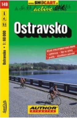 mapa cyklo Ostravsko,149