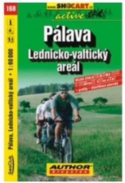 mapa cyklo Pálava,Lednicko-Valticko,168
