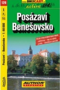 mapa cyklo Posázaví, Benešovsko,126