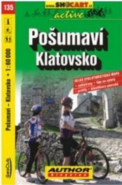 mapa cyklo Pošumaví,Klatovsko,135
