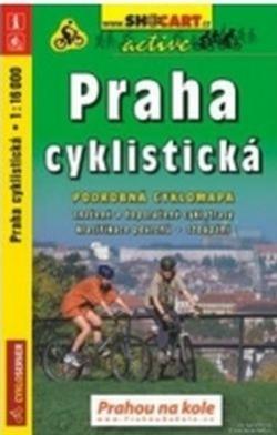 mapa cyklo Praha cyklistická