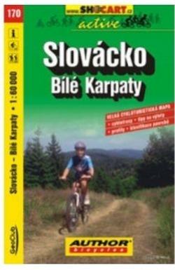 mapa cyklo Slovácko,Bílé Karpaty,170