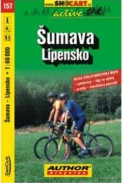 mapa cyklo Šumava,Lipensko,157