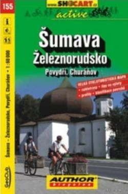 mapa cyklo Šumava,Železnorudsko,155