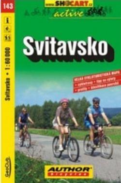 mapa cyklo Svitavsko,143