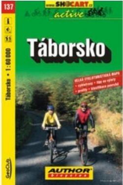 mapa cyklo Táborsko,137