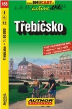 mapa cyklo Třebíčsko,166
