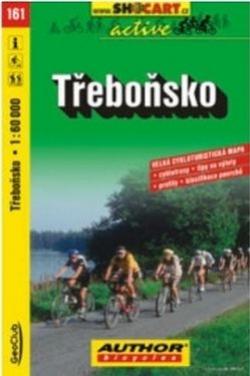 mapa cyklo Třeboňsko,161
