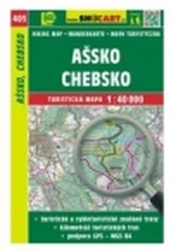 mapa cyklo-turistická Ašsko, Chebsko,405