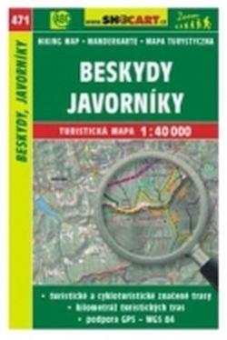 mapa cyklo-turistická Beskydy,Javorníky,471