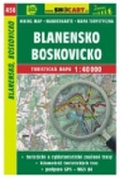 mapa cyklo-turistická Blanensko,Boskovicko,456