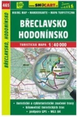 mapa cyklo-turistická Břeclavsko,Hodonínsko,465
