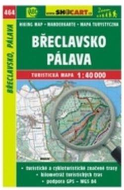 mapa cyklo-turistická Břeclavsko,Pálava,464