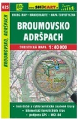 mapa cyklo-turistická Broumovsko,425