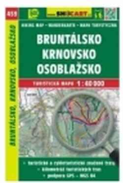mapa cyklo-turistická Bruntálsko, Krnovsko,459