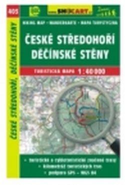 mapa cyklo-turistická České středohoří,SH403