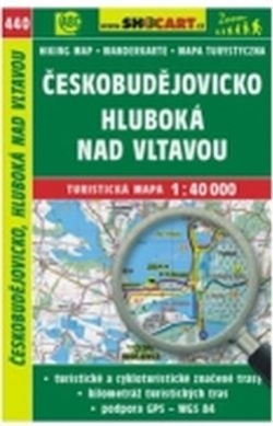 mapa cyklo-turistická Českobudějovicko,440