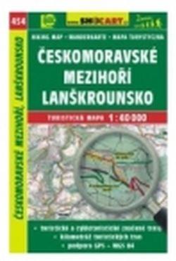 mapa cyklo-turistická Českomorav.mezihoří,SH454