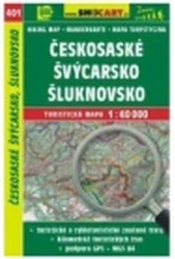 mapa cyklo-turistická Českosas.Švýc,Šluknov,401