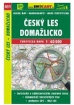 mapa cyklo-turistická Český les,SH431