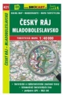 mapa cyklo-turistická Český ráj,SH421