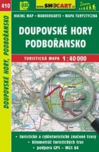 mapa cyklo-turistická Doupovské hory,410