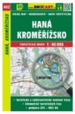 mapa cyklo-turistická Haná, Kroměřížsko,462