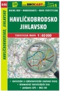 mapa cyklo-turistická Havlíčkobrodsko,446