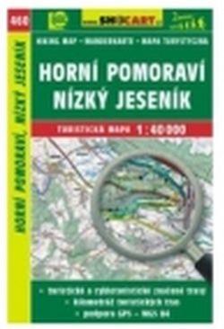 mapa cyklo-turistická H.Pomoraví,N.Jeseník,460