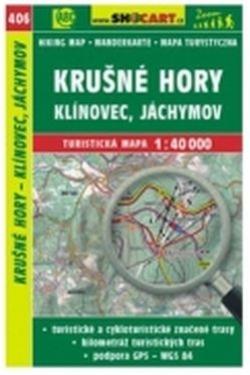 mapa cyklo-turistická Krušné hory,Klínovec,406