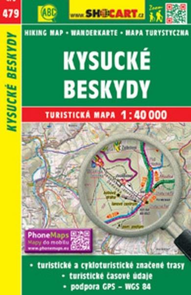 Mapa cyklo-turistická Kysucké Beskydy, 479