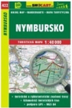 mapa cyklo-turistická Nymbursko,422