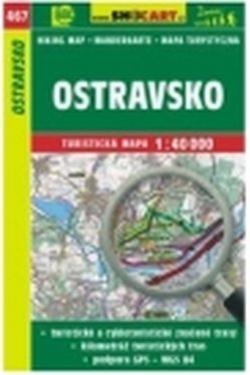 Mapa cyklo-turistická Ostravsko, 467