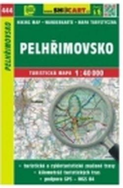 mapa cyklo-turistická Pelhřimovsko,444