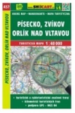 mapa cyklo-turistická Písecko, Zvíkov,437