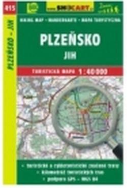 Mapa cyklo-turistická Plzeňsko-jih, 415