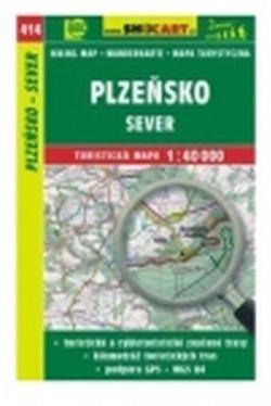 Mapa cyklo-turistická Plzeňsko-sever, 414