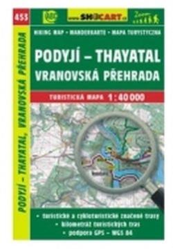 mapa cyklo-turistická Podyjí,Thayatal,453