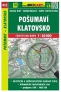 Mapa cyklo-turistická Pošumaví, Klatovsko, 432