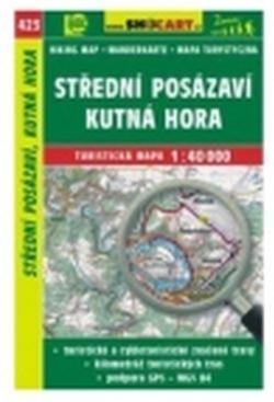 mapa cyklo-turistická Střední Posázaví,423