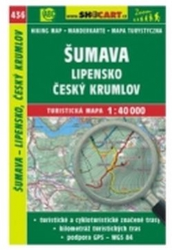 mapa cyklo-turistická Šumava,Lipensko,436