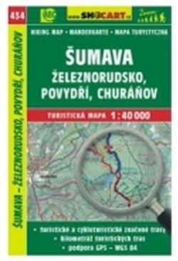 mapa cyklo-turistická Šumava,Železnorudsko,434