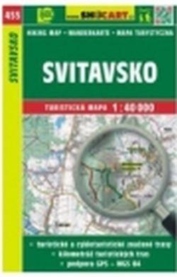 mapa cyklo-turistická Svitavsko,455